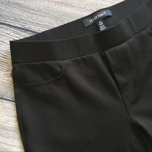 96c1047c68238 Ellen Tracy Pants - Ellen Tracy Ponte Ankle Leggings Black sz medium